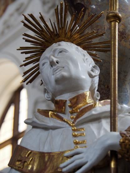 Stiftskirche, Nepomuk-Altar: Thomas Becket