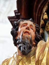 Stiftskirche, Kanzel: Markus Evangelist