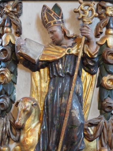 Kreuzkirche, Kanzel: Aegidius