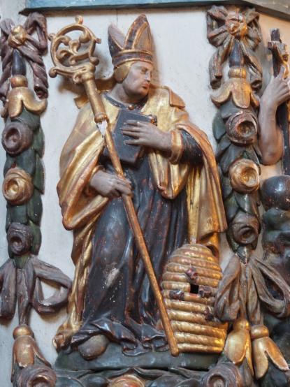 Kreuzkirche, Kanzel: Ambrosius