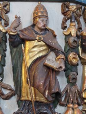Kreuzkirche, Kanzel: Gregor