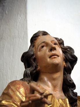 Stiftskirche, Kanzel: Johannes