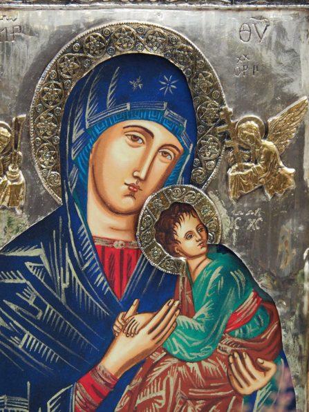 Stiftskirche. Ikone Maria mit Kind