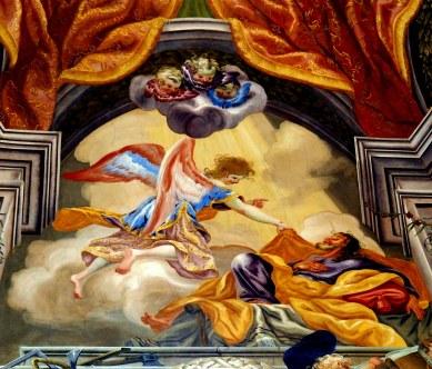 Josephskapelle, Traum des NT-Joseph