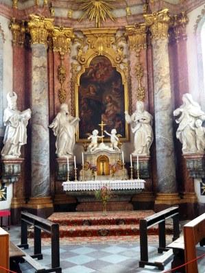 Josephskapelle, Altar