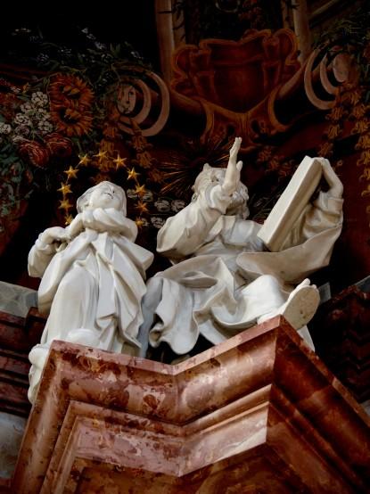 Josephskapelle, Jeremia mit Maria im Strahlenkranz