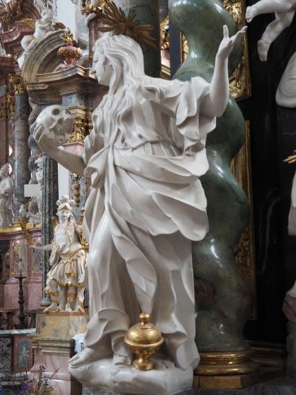 Stiftskirche, Pieta-Altar: Maria Magdalena