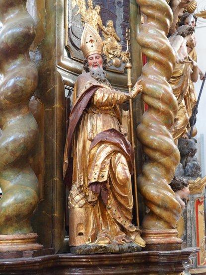 Stiftskirche, Tauf-Altar: Ambrosius