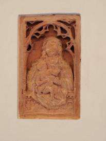 Refektorium, Konsole mit Maria und Kind