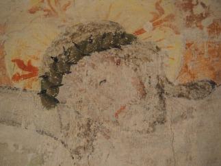 Kreuzgang, Südflügel: Wandmalerei